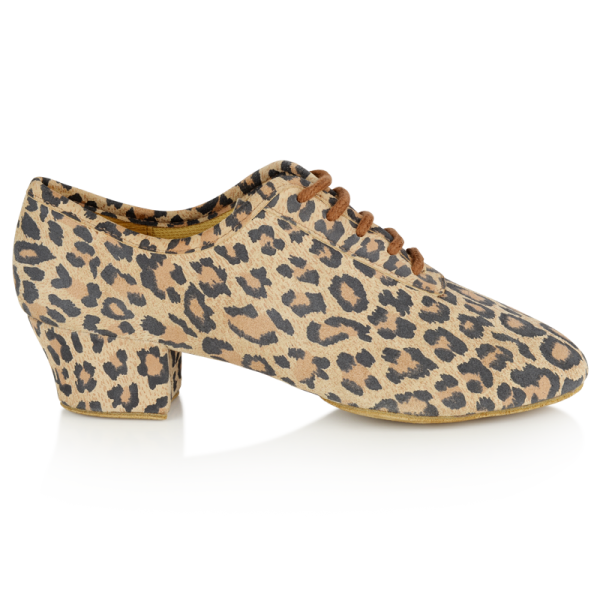 Ray Rose 415 Solstice | Leopard Print Leather